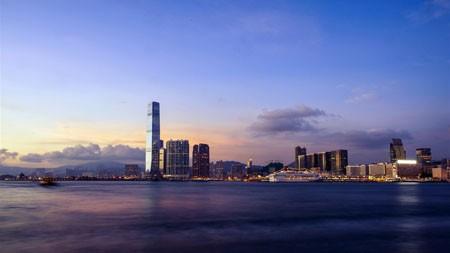 市,湾,摩天大楼,地标,天际线高端桌面精选 3840x2160