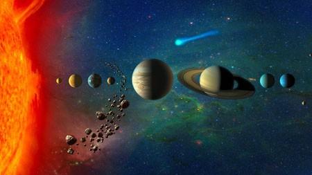 太阳系,行星,卫星,高清,宇宙高端桌面精选 3840x2160