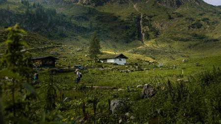 高山,绿色土地,村庄,2022,自然,风景,照片高端桌面精选 3840x2160