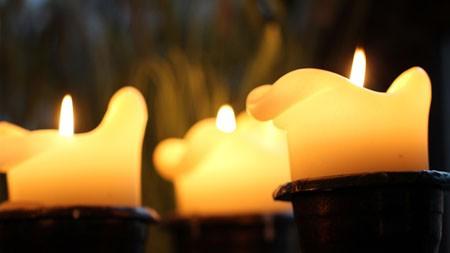 黑暗,黄金,蜡烛,火焰,HD,特写镜头百变桌面精选 3840x2160