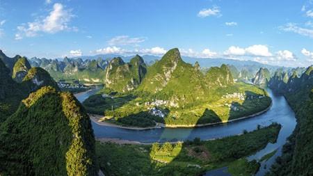 中国,桂林,阳朔,景观,全景高端桌面精选 3840x2160