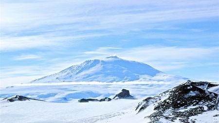 南极洲,火山,雪,冬天,山峰高端桌面精选 3840x2160