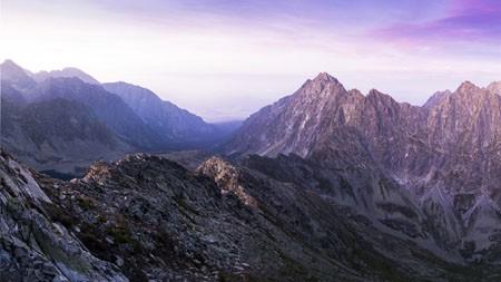 贫瘠,山地,高原,岩石,景观高端桌面精选 3840x2160
