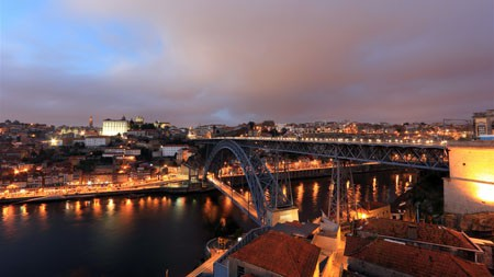 欧洲,城市,埃菲尔桥,夜晚,照明高端桌面精选 3840x2160