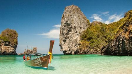 泰国,船,岛,热带,高清,风景,摄影高端桌面精选 3840x2160