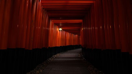 日本京都,2021年,红色通道,5K,高清,照片高端桌面精选 3840x2160