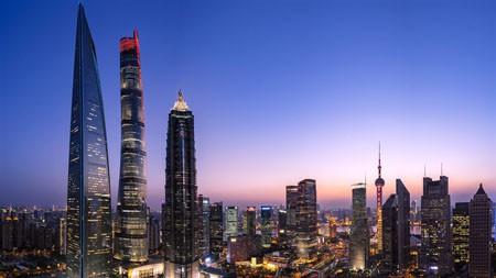 上海,陆家嘴,摩天大楼,2022,高质量,桌面极品壁纸精选 3840x2160