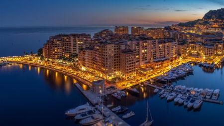 夜湾,夜,城市,码头,2022,高清,摄影高端桌面精选 3840x2160