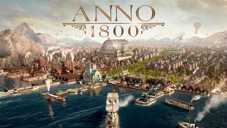 2022,ANNO 1800,游戏,高清,海报高端桌面精选 3840x2160