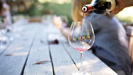 户外,阳光,桌面,葡萄酒,酒杯高端桌面精选 3840x2160