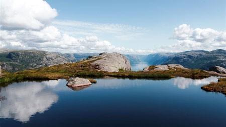 自然,湖,荒野,高山高端桌面精选 3840x2160