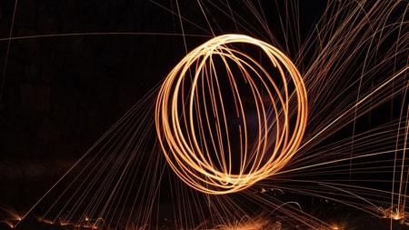 火,火花,夜,2022,高清,摄影高端桌面精选 3840x2160