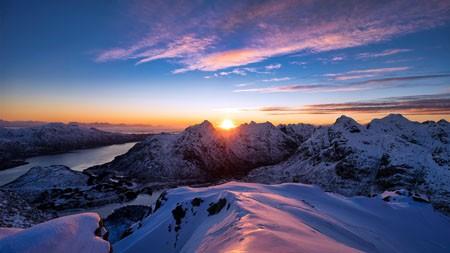 挪威罗弗敦山脉,2021年,风景,5K,照片高端桌面精选 3840x2160