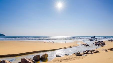 中国,海南,博鳌,沙滩,海洋,阳光高端桌面精选 3840x2160