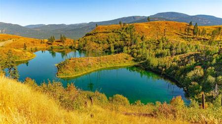 湖,谷,山丘,2022年,景观,HDR摄影高端桌面精选 3840x2160