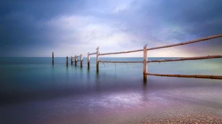 波罗的海,黎明,海滩,旅游,4K,超高清高端桌面精选 3840x2160