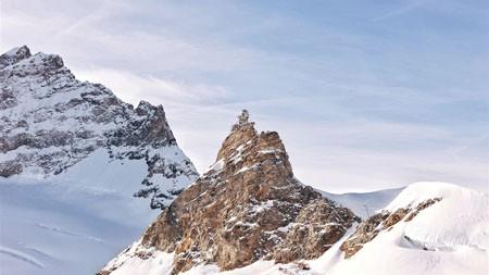冬天,雪山,高峰,山,天气高端桌面精选 3840x2160