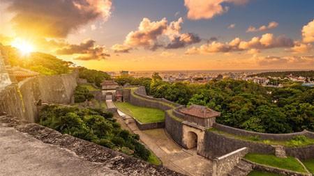 首里城,冲绳那霸市,2021,Bing,4K,桌面极品壁纸精选 3840x2160