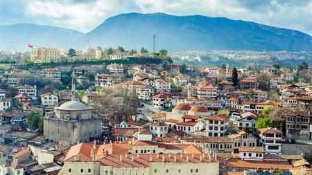土耳其,番红花城,迷雾,高清,摄影高端桌面精选 3840x2160