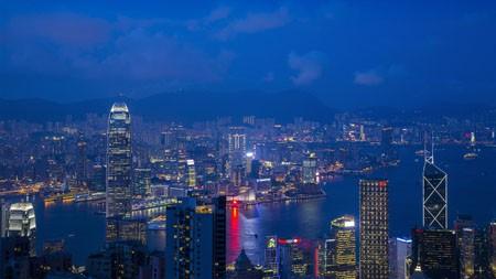 香港,维多利亚港,夜,高清,摄影高端桌面精选 3840x2160