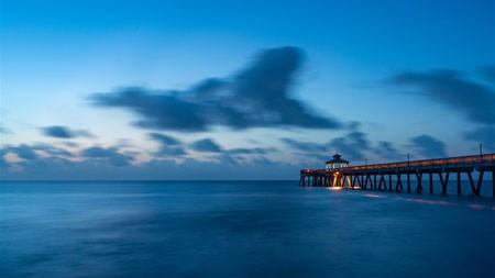 夏天,码头,海洋,黄昏,2022,高清,摄影高端桌面精选 3840x2160