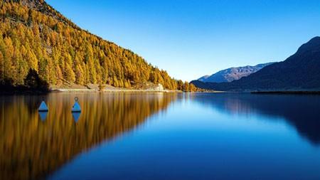 寂静的湖山,2021年,风景,5K,高清,海报高端桌面精选 3840x2160
