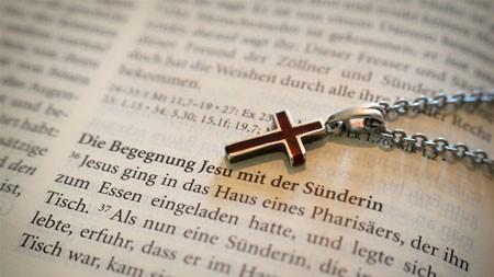 书籍,项链,爱,十字架,圣经高端桌面精选 3840x2160