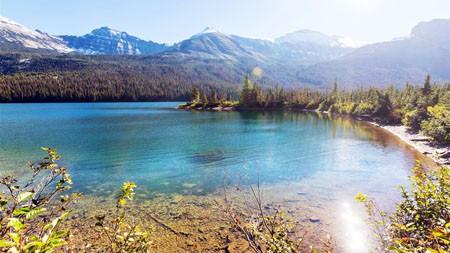 冰川公园,蒙大拿州,美国,2022,风景,4K,摄影高端桌面精选 3840x2160