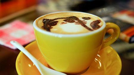 可爱,猫,摩卡,卡布奇诺,咖啡,咖啡馆高端桌面精选 3840x2160
