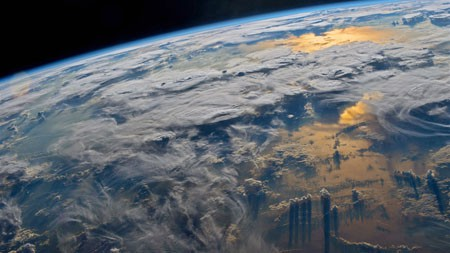 地球,国际空间站,2021年,Bing,5K,照片高端桌面精选 3840x2160