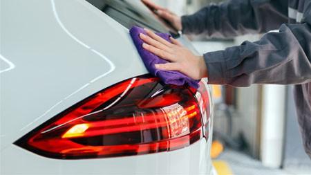 4S,汽车,美容服务,红色尾灯,特写高端桌面精选 3840x2160