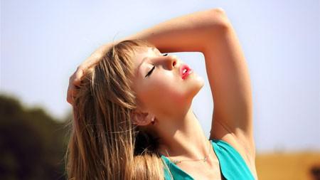 夏天,阳光,金发,美女,模特,4K,超高清极品壁纸精选 3840x2160
