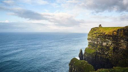 悬崖,海岸,蓝色的海洋,自然,景观高端桌面精选 3840x2160
