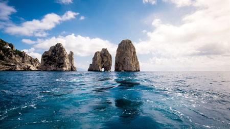 岩石峭壁,海上天际线,2022,自然风光,摄影高端桌面精选 3840x2160
