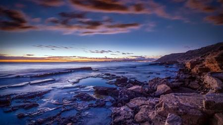马略卡岛,黄昏,海洋,沙滩极品壁纸精选 3840x2160