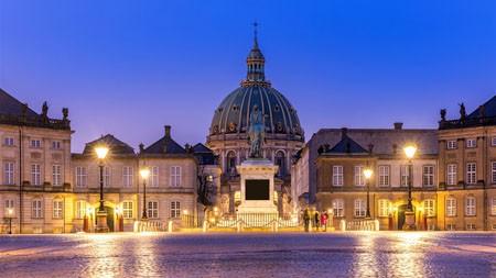 弗雷德里克,哥本哈根,2021,城市,旅行,高清照片高端桌面精选 3840x2160