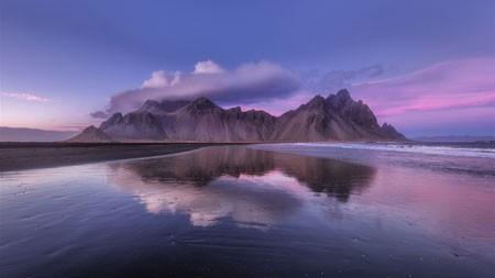 美丽,山,湖,反射,倒影,4K,超高清高端桌面精选 3840x2160