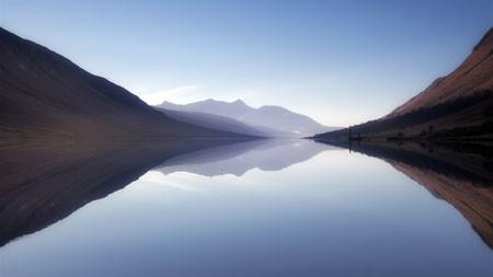 湖,Etive,宁静,湖,雾,山百变桌面精选 3840x2160