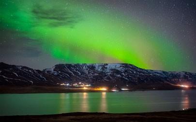 北极光,特罗姆瑟,挪威,2021年,风景,5K,照片百变桌面精选 5120x2880