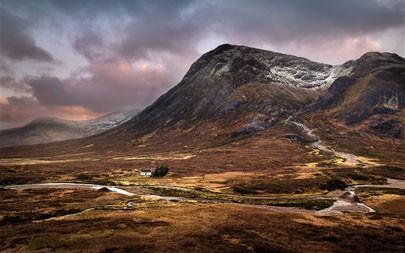 苏格兰,山丘,山谷,房子,2021年,必应,5K,桌面高端桌面精选 5120x2880