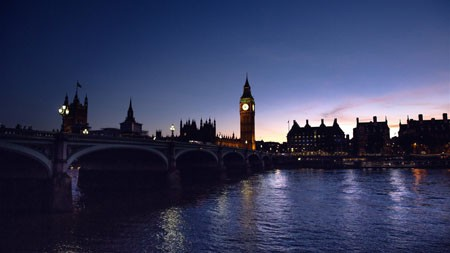伦敦,英格兰,大本钟,泰晤士河,傍晚高端桌面精选 3840x2160