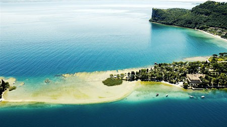 意大利,群岛,加尔达湖,地平线,风景高端桌面精选 3840x2160