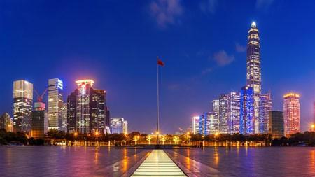 中国,深圳,平安大厦,夜景高端桌面精选 3840x2160