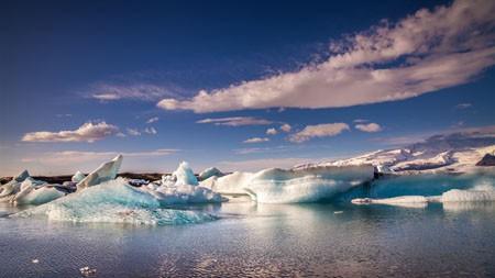 海洋,冰岛,冰川,自然,景观高端桌面精选 3840x2160