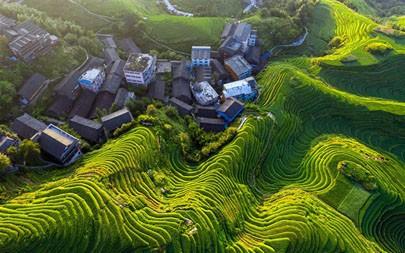 中国,桂林龙脊梯田,2021年,旅行,5K,摄影高端桌面精选 5120x2880