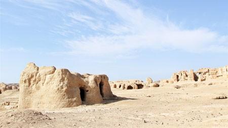 新疆,吐鲁番,古城,文明遗址高端桌面精选 3840x2160