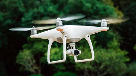 白色,无人机,高清,摄影,黑色技术高端桌面精选 3840x2160