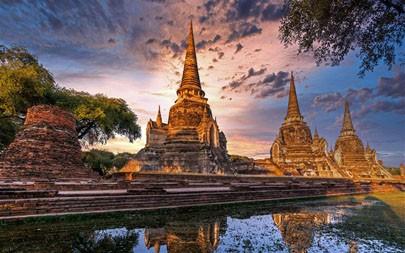 大城府历史公园,大城府,泰国,2021,Bing,5K,照片极品壁纸精选 5120x2880