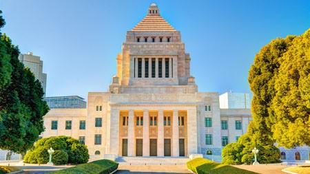 国立国会大厦,东京,长田,2022,必应,桌面高端桌面精选 3840x2160