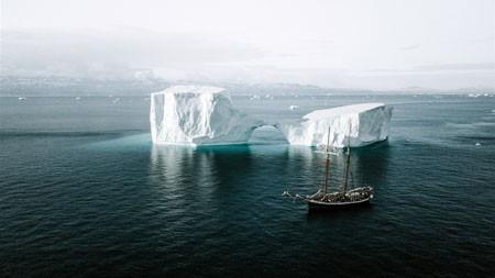 海洋,冰山,船,HDR,摄影高端桌面精选 3840x2160